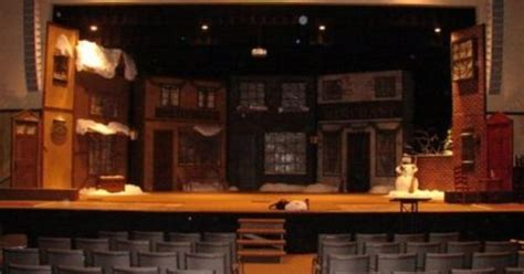 Carol Set faith theater co a carol set design past