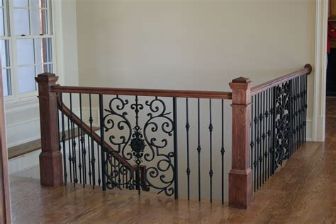Metal Banister by Iron Balusters Newels Railings More