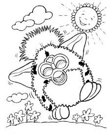 free coloring pages baby furby