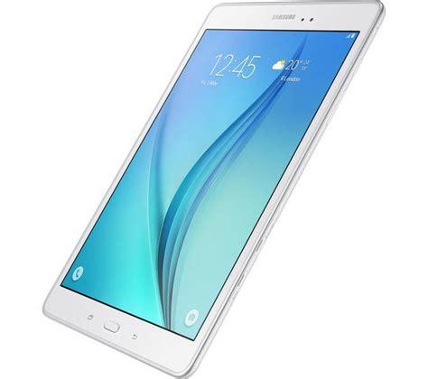 Samsung Tab Jaringan 4g samsung galaxy tab a 9 7 quot 4g tablet 16 gb white deals pc world