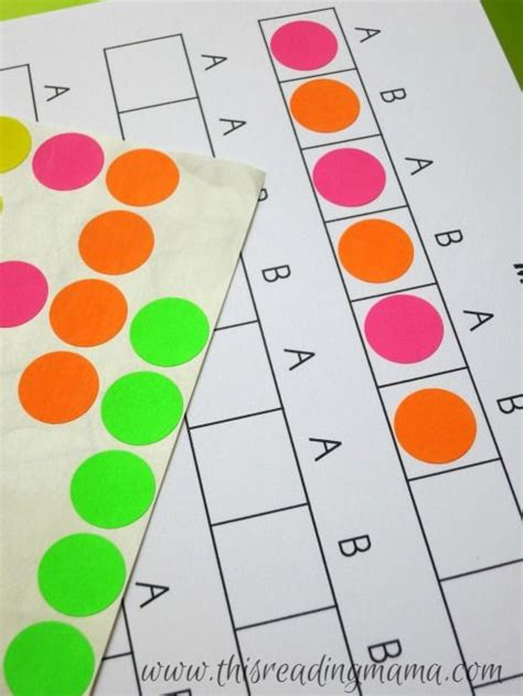 pattern making activities for preschool 1464 best images about math on pinterest