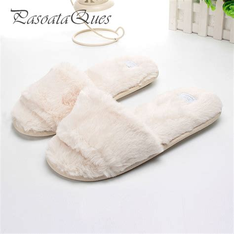 fashionable men s house slippers with flock and cartoon design new fashion flock women shoes home indoor house women