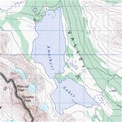 map of jasper oregon amethyst lakes topo map
