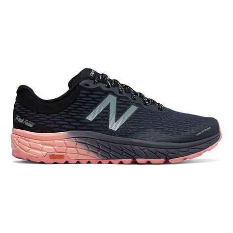 how do new balance shoes run womens new balance fresh foam hierro v2 trail running shoe