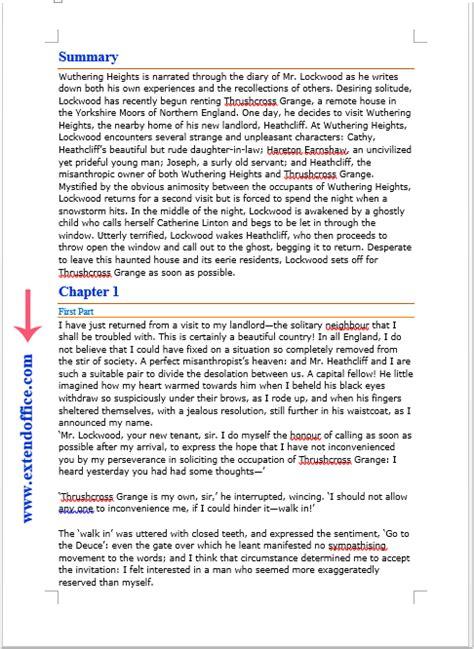 Comment insérer du texte dans la marge du document Word?