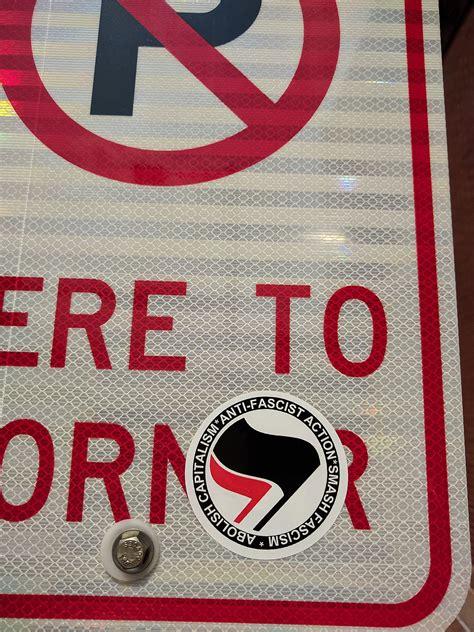 Antifa Aufkleber by Antifa United States