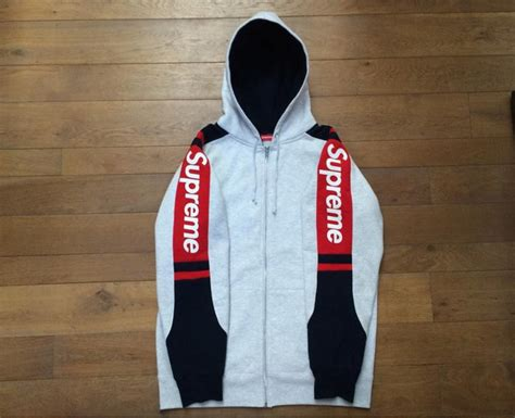 where can i buy supreme clothing supreme track zip up hoodie 293898 from valibog at klekt