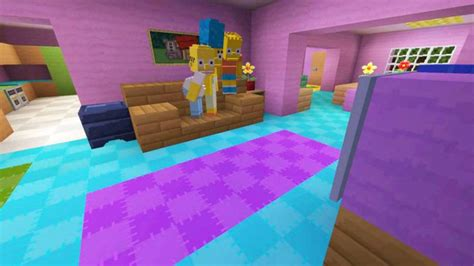 simpsons minecraft couch gag 187 this fan made simpsons minecraft intro might be better