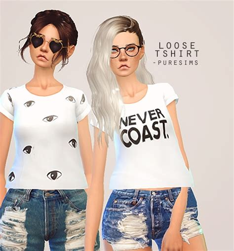 Top Home Decor Websites pure sims loose t shirt sims 4 downloads