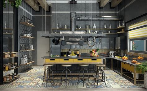 industrial home design uk 32 industrial style kitchens that will make you fall in love
