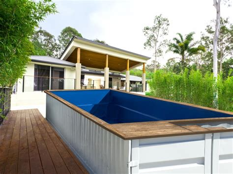 elbar pool houses from shipping shipping container pools ees shipping logistics is our world perth western australia