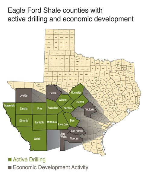 eagle ford texas map the of the eagle ford shale in san antonio texas radio