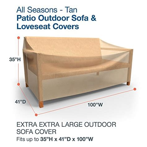 extra large sofa covers budge all seasons outdoor patio sofa cover extra extra