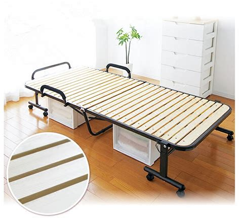 folding bed frame japanese tatami metal folding bed frame with caters