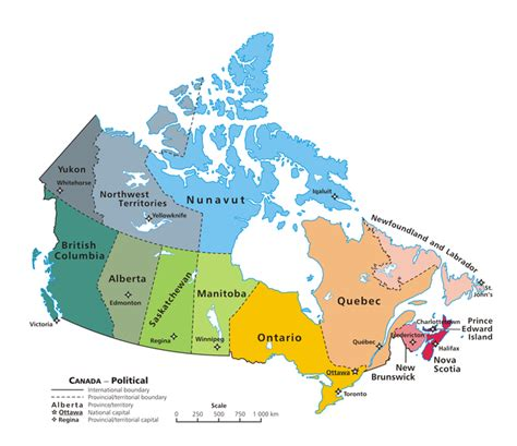 canada provinces map provinces and territories of canada