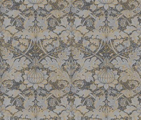 Morris Custom Upholstery by William Morris Growing Damask Grey Garden Fabric