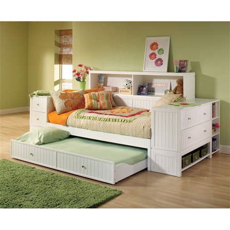 bookcase daybed with storage bookcase storage daybed at hayneedle