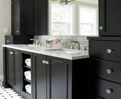 ideas  black bathroom cabinets  storage spaces