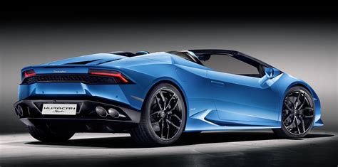 Lamborghini Huracan Lp610 4 Lamborghini Huracan Lp610 4 Spyder Unveiled Photos 1 Of 8