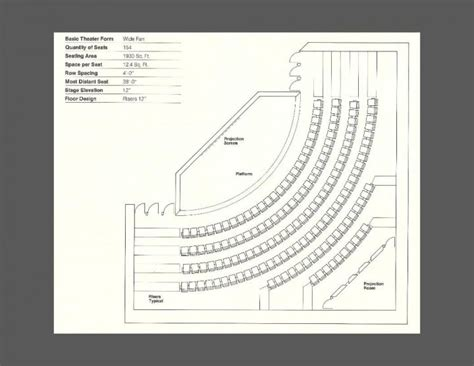 stage plan template 9 auditorium plan templates to inspire your next project