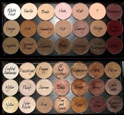 Mac Single Eyeshadow mac eyeshadows favorite non shimmer neutrals brule kid
