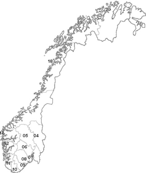postal codes norway