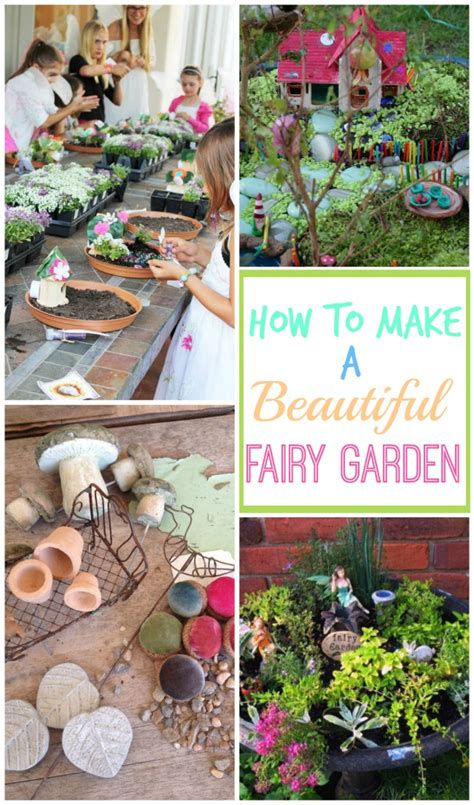 how to make a beautiful garden how to make a fairy garden design dazzle