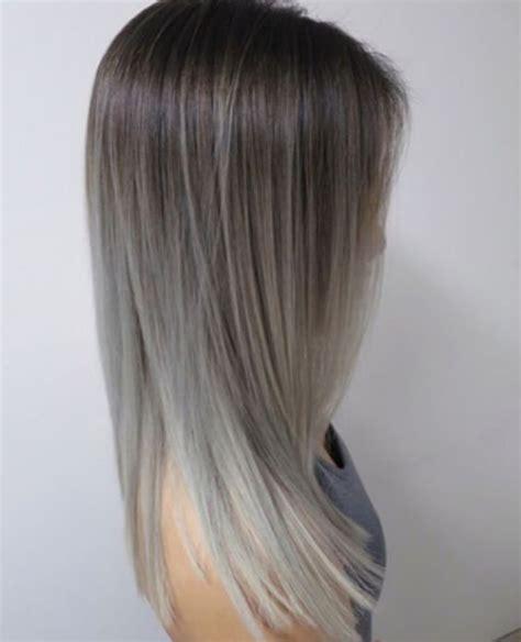 tintes de cabello color gris balayage gris plata buscar con google ideas cabello