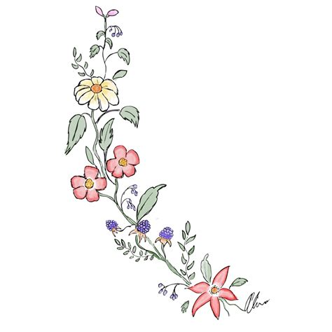 drawing flowers www pixshark com images