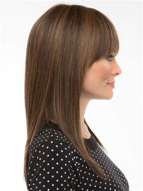 wigs for kids synthetic and human hair all lengths taryn wig by envy synthetic human hair blend wigs com