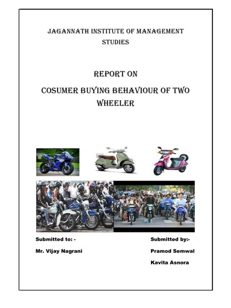 Dissertation Report by Dissertation Report On Consumer Buying Behaviour