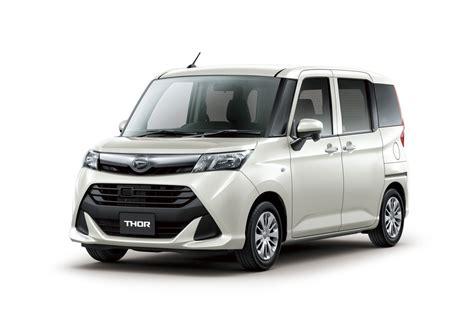 daihatsu new daihatsu launches new thor and thor custom autocarweek