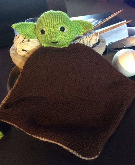 knitted wars characters lovey security blanket knitting patterns