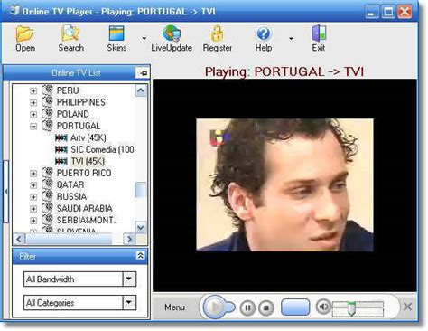 tv free online tv player download