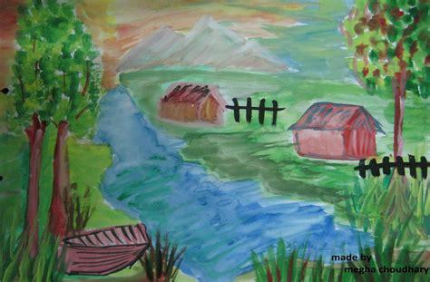 water painting water paintings scenery www imgkid the image kid