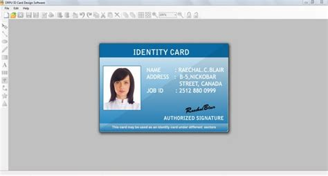 id card template publisher id card creator shareware version 7 3 0 1 by id card creator