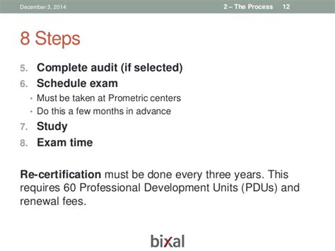 Does Class Work For Mba Count Towards Pmp by Bixal Pmp Study Chapter 1 Dec 3 2014