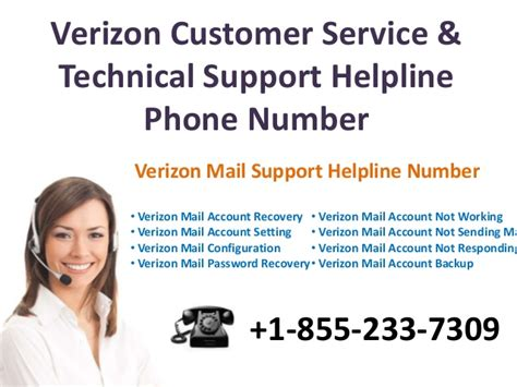 verizon mail tech support 1 855 233 7309 verizon mail