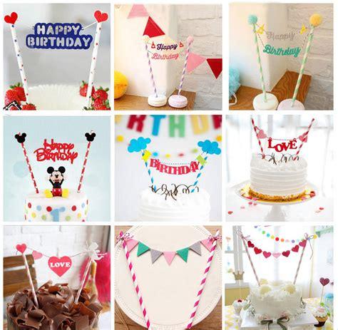 Cake Topper Birthday Topper Topper Kue Hiasan Kue Murah aliexpress buy 1pc diy cupcake cake topper