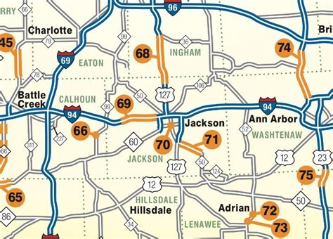 mdot construction map see which major michigan roads will be construction