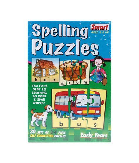 Smart Spelling Alphabet Puzzle Buy Smart Spelling Smart Puzzle
