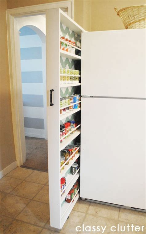 Space Saving Pantry by 25 Best Ideas About Space Saving Kitchen On