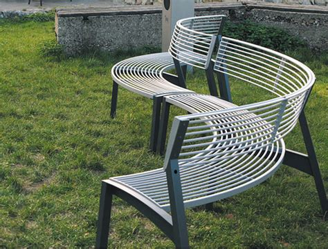 public benches modern bench design ideas for public space vera series by