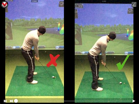correct golf swing improve your golf posture wales golf course and