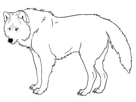 Imagenes Para Colorear Lobo | image gallery lobos para colorear