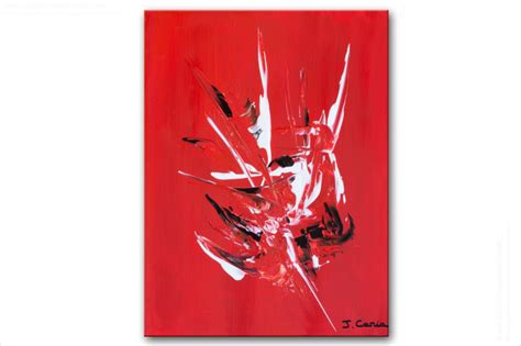 Exceptionnel Salle A Manger Bois Et Chiffon #8: Tableau-moderne-boldness-rouge.jpg