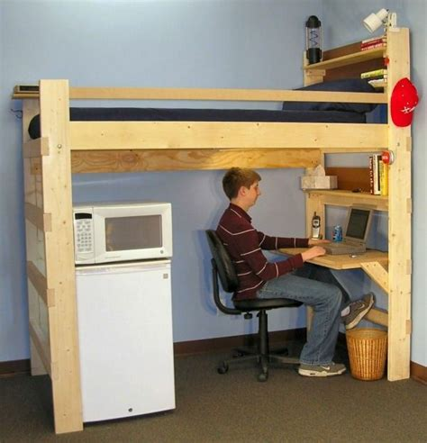 bunk bed  desk   great suggestions decor