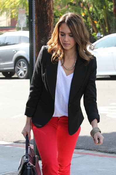 jessica pels jessica alba in jessica alba in west hollywood zimbio