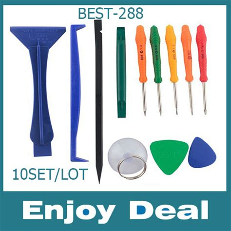 Aliexpress Buy 1set 10 In 1 Spudger Mobile Cell 12 in 1 screwdriver spudger iphone opening tools for ipone