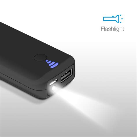 Power Bank Charger Hippo ec technology portable external battery charger power bank 5000 mah fast charging led light mi